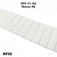 Etykieta RFID z gąbką – tag na numer startowy do pomiaru czasu w zawodach sportowych