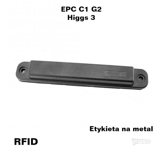 Tag RFID na metal do stosowania wewnątrz i na zewnątrz pomieszczeń