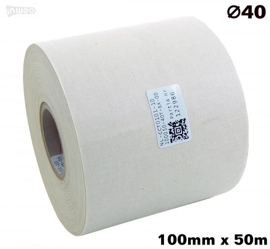 Bawełna jednostronna Naturalna 100x050 premium