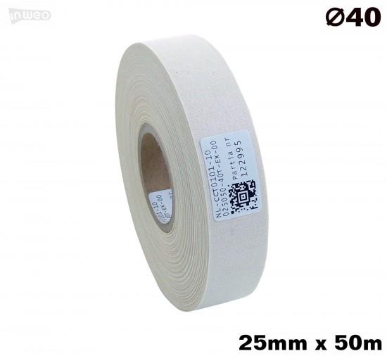 Bawełna jednostronna Naturalna 025x050 premium