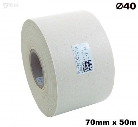 Bawełna jednostronna Naturalna 070x050 premium