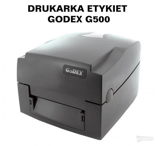 Drukarka etykiet - Godex G500