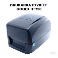 Drukarka etykiet - godex RT730