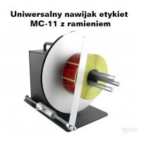 Uniwersalny nawijak etykiet MC-11 z ramieniem Urządzenia i akcesoria