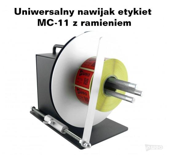 Uniwersalny nawijak etykiet MC-11 z ramieniem