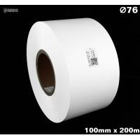 Taśma nylonowa dwustronna biała PREMIUM OekoTex 100mm x 200mb Materiały tekstylne