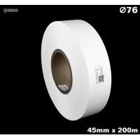 Taśma nylonowa dwustronna biała premium OekoTex 45mm x 200mb