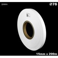 Taśma nylonowa dwustronna biała premium plus 15mm x 200mb