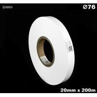 Taśma nylonowa dwustronna biała premium plus 20mm x 200mb MATERIAŁY TEKSTYLNE