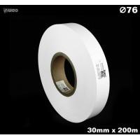 Taśma nylonowa dwustronna biała premium plus 30mm x 200mb