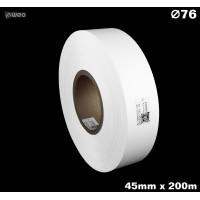 Taśma nylonowa dwustronna biała premium plus 45mm x 200mb