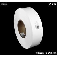 Taśma nylonowa dwustronna biała premium plus 50mm x 200mb