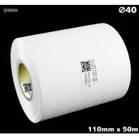 Taśma nylonowa dwustronna biała PREMIUM OekoTex 110mm x 50mb Materiały tekstylne