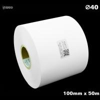 Taśma nylonowa do wprasowywania biała PREMIUM 100mm x 50mb Materiały tekstylne