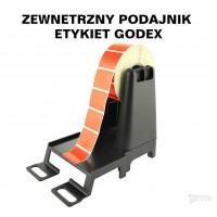 Zewnętrzny podajnik etykiet Godex